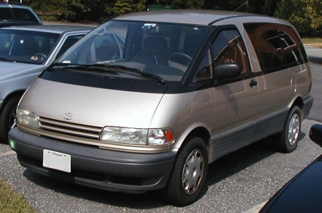toyota previa 1 le monospace 7 places d 39 occasion fiable. Black Bedroom Furniture Sets. Home Design Ideas