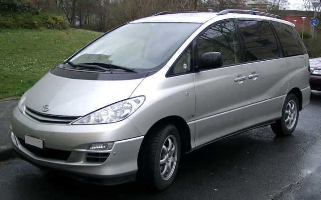 toyota previa 2 le monospace 7 places tr s tr s spacieux. Black Bedroom Furniture Sets. Home Design Ideas