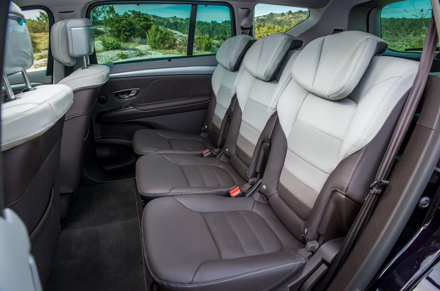 renault espace 5 sièges arrière