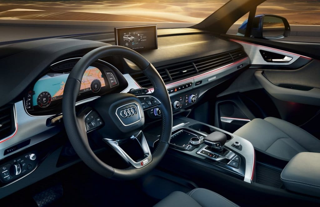 Audi q7 int rieur for Interieur q7
