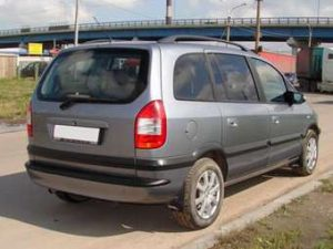 opel zafira a i un monospace 7 places d 39 occasion tr s recherch. Black Bedroom Furniture Sets. Home Design Ideas