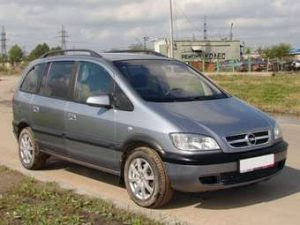 opel zafira 7 places