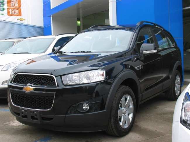chevrolet captiva 2 de 2011 le suv am ricain restyl qui. Black Bedroom Furniture Sets. Home Design Ideas
