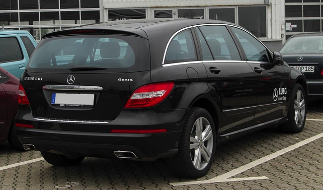 Consommation Mercedes Classe R  Essence