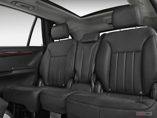 sièges arrière mercredes classe R