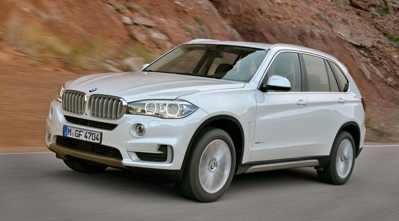 BMW X5: un SUV 4x4 de luxe (presque) 7 places