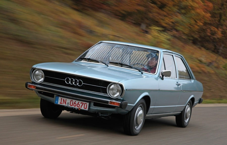 Audi 80:1972. Source: stubs-auto.fr