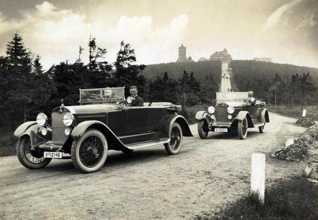 audi histoire voiture type K