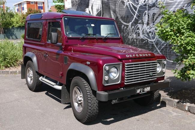 Préférence Marque de voiture: Land Rover JY15