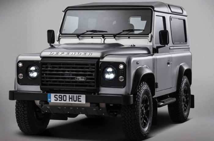 land rover defender gris 4x4 7 places. Black Bedroom Furniture Sets. Home Design Ideas