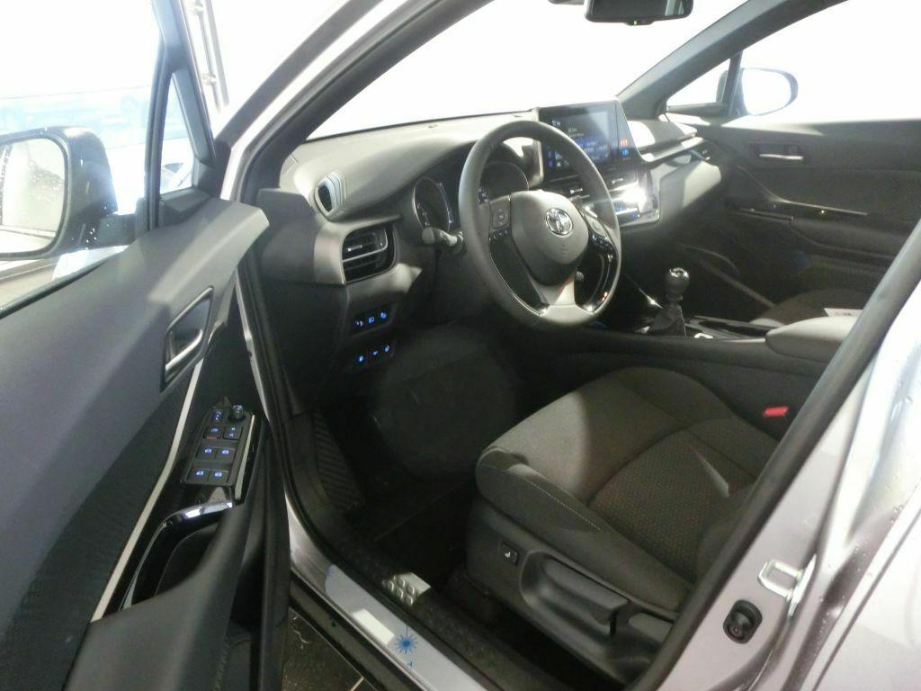 L'intérieur du Toyota C-HR